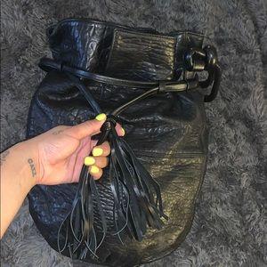 Simona Calla Genuine Leather Hobo Bag